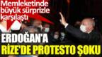 Son dakika! Erdoğan'ın konvoyuna gece yarısı protesto şoku!