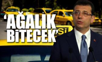 İmamoğlu'ndan taksi müjdesi: Gözünüz bizde olsun